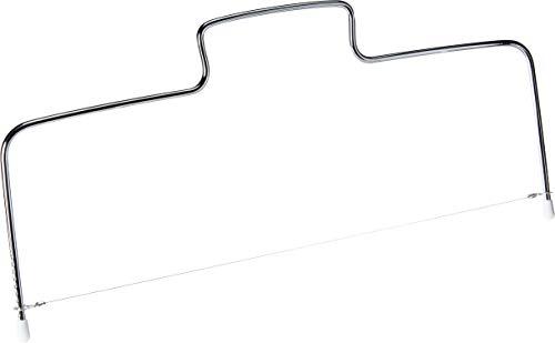 Cortador Manual de Bolo de Inox e Fio Extra Fackelmann Prata