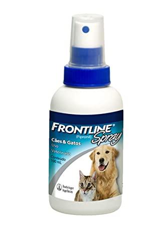 FRONTLINE Antipulgas e Carrapatos Spray para Cães e Gatos 100ml
