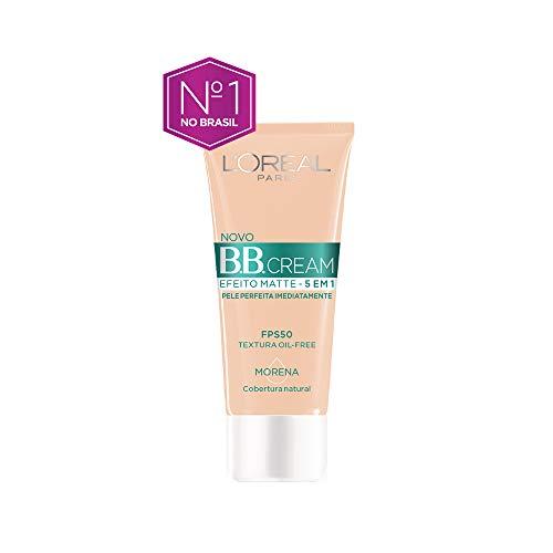 Base Bb Cream L'Oréal Paris Efeito Matte 5 em 1 Fps 50 30G - Morena, L'Oréal Paris