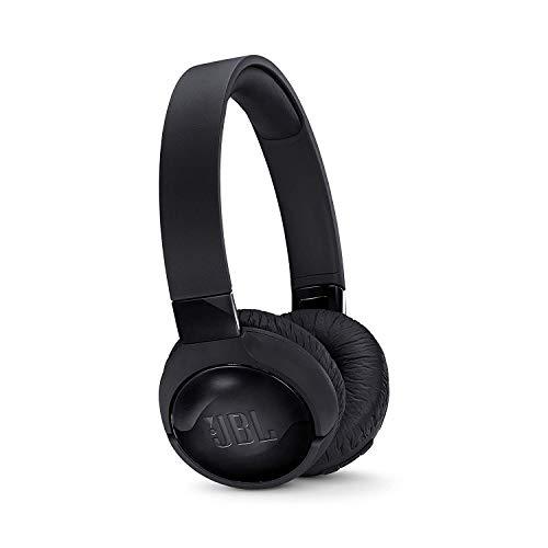 JBL Tune 600BTNC, Fone de Ouvido Bluetooth com Cancelamento de Ruído Ativo, Preto