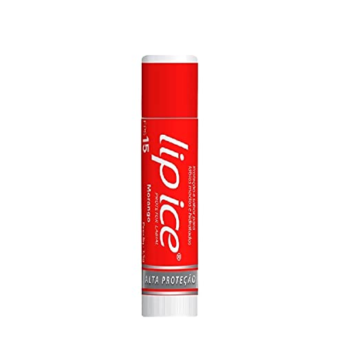 Lip Ice Protetor Labial FPS15 - Morango 3.5g