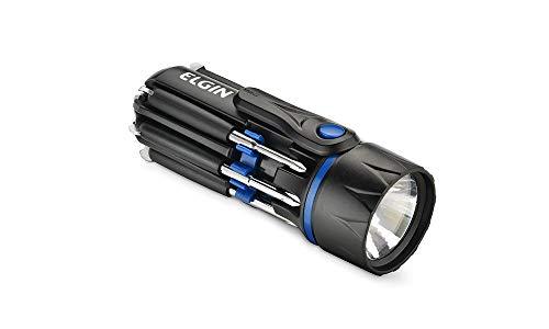 Lanterna Led Com Kit De Ferramentas Embutido 8 Em 1 Elgin