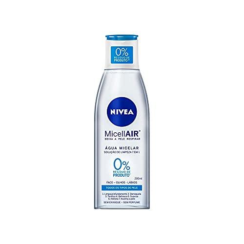 Água Micelar Nivea Micellair Solução de Limpeza 7 em 1 200Ml, Nivea