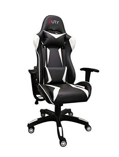 Cadeira Gamer Fury 7002 - Couro PU, Reclinável 180º- Premium