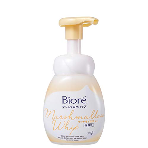 Sabonete Líquido Facial Bioré - Marshmallow Whip Rich Moisture 150ml