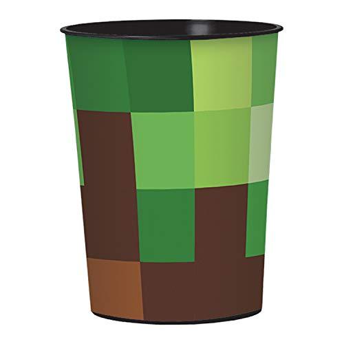 amscan - TNT Taça de lembrancinha de festa (1), Verde, One Size, 1