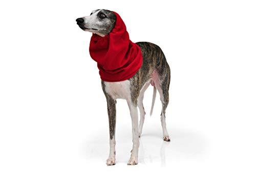 Roupa de Frio Snood Gola Protetor de Orelhas para Cachorro e Gato Pet