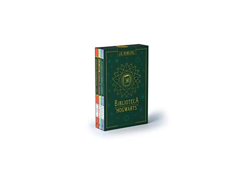 Biblioteca Hogwarts (edición pack): Animales fantásticos y dónde encontrarlos | Quidditch a través de los tiempos | Los cuentos de Beedle el bardo: 504002