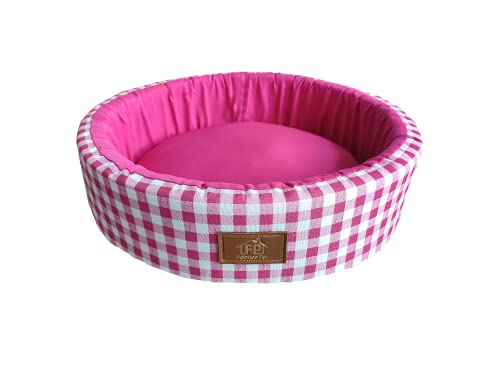 Cama Fábrica Pet para Cães, Grande, Pink
