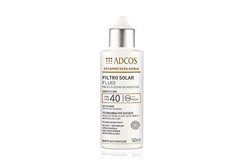 Adcos Filtro Solar Fluid FPS40 peles oleosas e acneicas 50ml