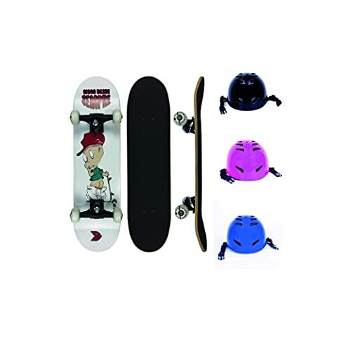 Skate Infantil Cisco Desde Sempre Little Boy 7.28' + Capacete Infantil