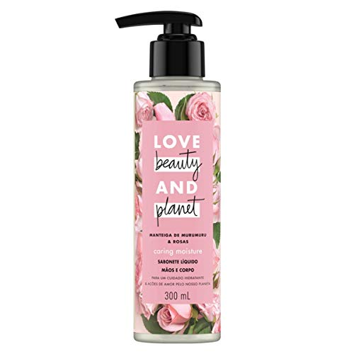 Sabonete Líquido Love Beauty And Planet Caring Moisture 300ml