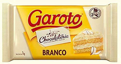 Barra De Chocolate Branco 1kg - Garoto