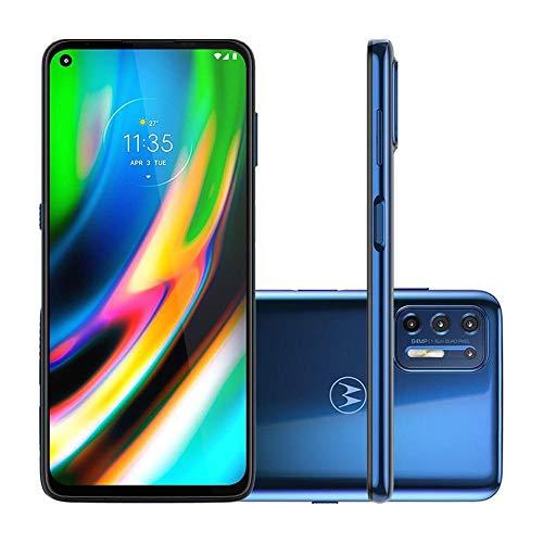 Smartphone Motorola XT2087 Moto G9 Plus Azul Índigo128GB Tela 6.8' Câmera 64 MP 8 MP 2 MP 2 MP