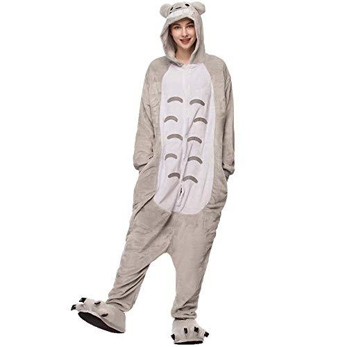 Pijama Kigurumi Meu Amigo Totoro Macacão Original Pronta Entrega (M (1,59-1,68 cm))