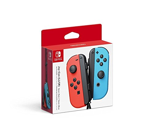Nintendo Switch Joy-Con (L) e (R) - Vermelho e Azul [video game]