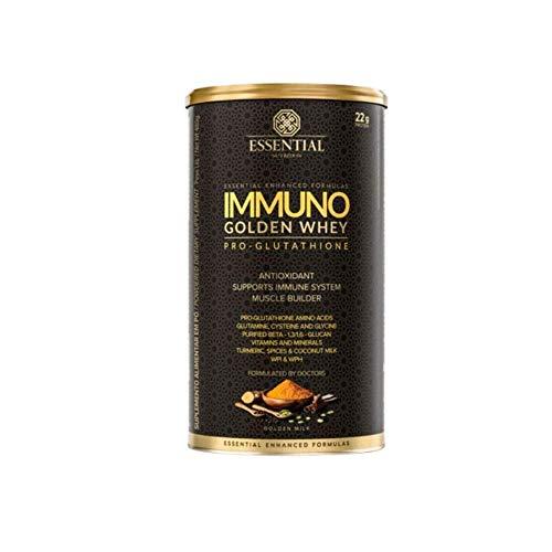IMMUNO GOLDEN WHEY PRO GLUTATHIONE LATA (480G) - Golden Milk