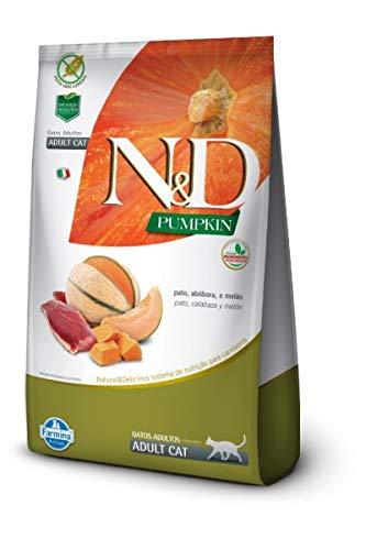 Ração Pumpkin N&D para Gatos Adultos sabor Pato - 7,5kg