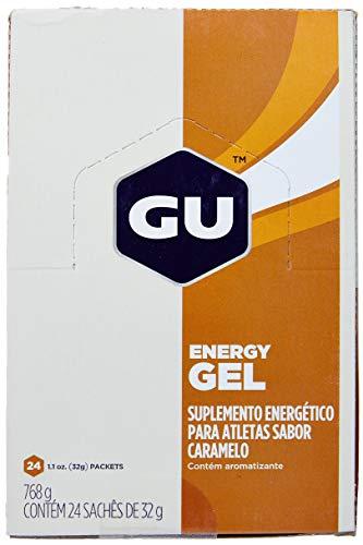 Energy Gel 24 Sachês 32g Caramelo, GU