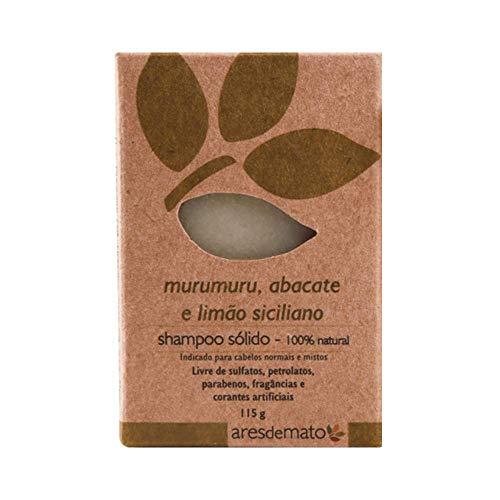 Shampoo Sólido de Murumuru e Abacate Natural e Vegano 115g Ares de Mato