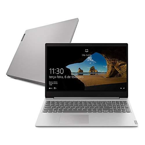 Notebook Lenovo Ultrafino ideapad S145 i5-8265U, 8GB 256GB SSD GeForce MX 110 Windows 10 15.6' Dolby Audio Design Leve e Compacto, Prata