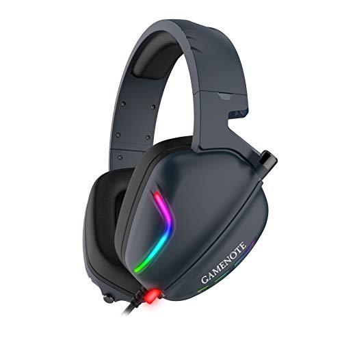 Fone de Ouvido Headphone Gamer 7.1 Havit HV-H2019U RGB, 3D Surround, com Microfone, USB