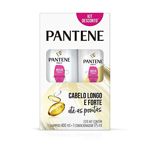 Shampoo Pantene Micelar 400Ml + Condicionador 175Ml, Pantene