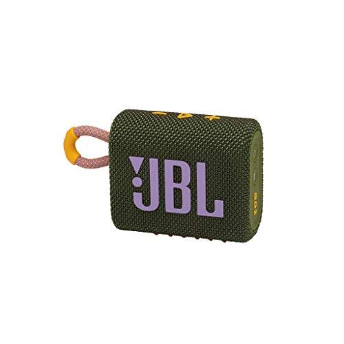 Caixa Bluetooth Jbl Go3 Grn