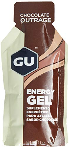 Gu Energy Gel Caixa (24 Unidades) - Sabor Chocolate Belga, Gu Energy