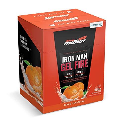 iron man gel fire - 10 Sachês 30G Tangerina New Millen