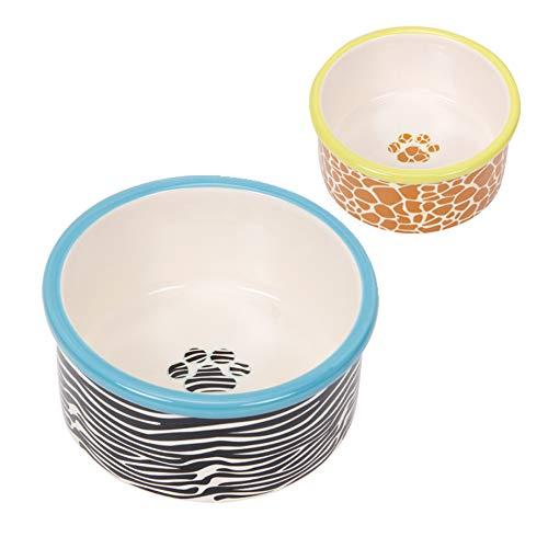 Comedouro Cerâmica Chalesco para Cães