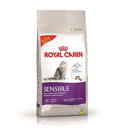 Ração Royal Canin Sensible, Gatos Adultos 7,5kg Royal Canin Raça Adulto