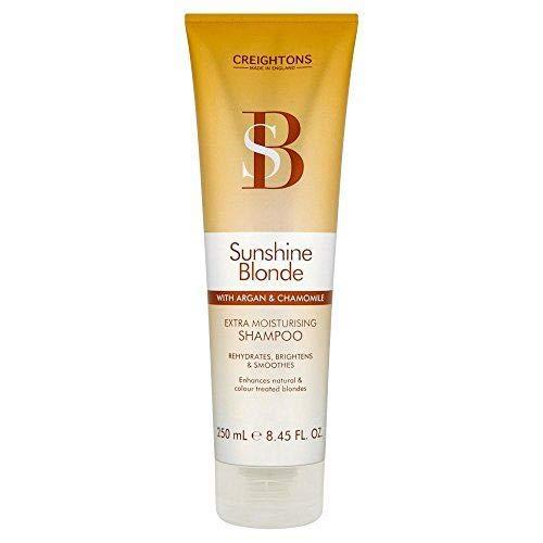 Sunshine Blonde Extra Moisturising Shampoo 250ml, Creightons, Dourado