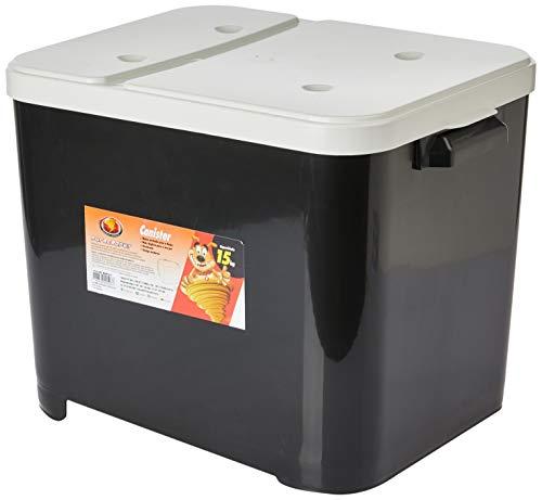 Container Para Racao 15kg Black Furacão Pet para Cães