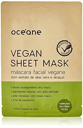 Vegan Sheet Mask - Máscara Facial Vegana./Unica, Océane