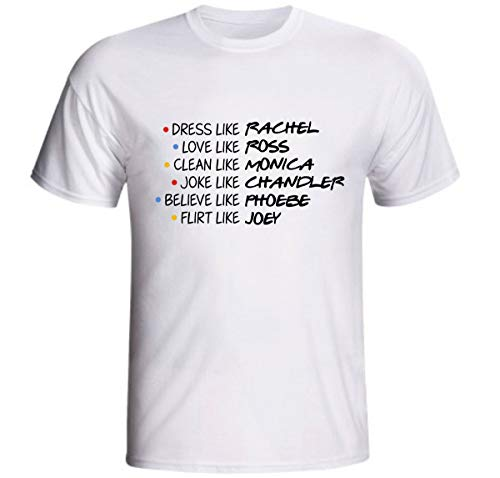 Camiseta Friends Dress Like Rachel Love Like Ross Série