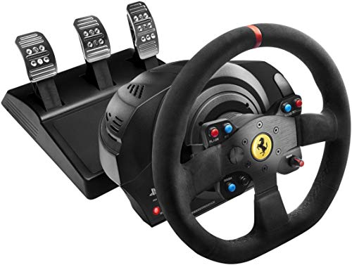 Thrustmaster T300 Ferrari Integral Alcantara Edition (PS4 & PC)