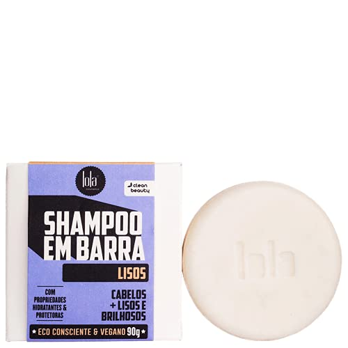 Lola Cosmetics Lisos - Shampoo em Barra 90g