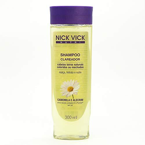Nick & Vick, Nutri Shampoo Clareador, 300ml