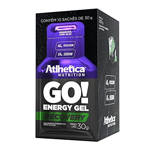 Go Energy Gel (10 Sachês) - Sabor Guaraná e Açai, Atlhetica Nutrition