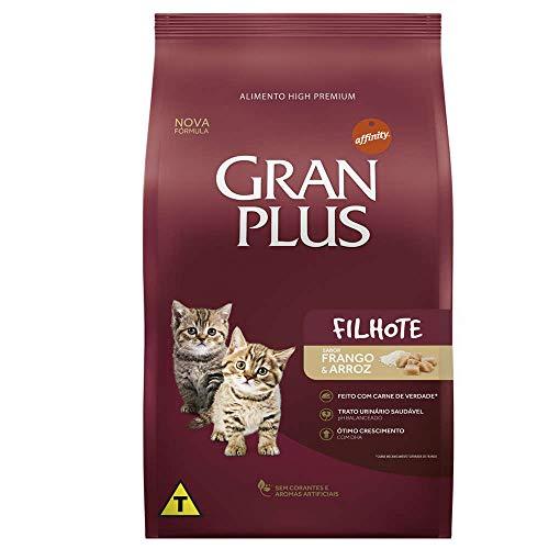 Ração para Gatos Filhotes Gran Plus Frango e Arroz 10,1Kg