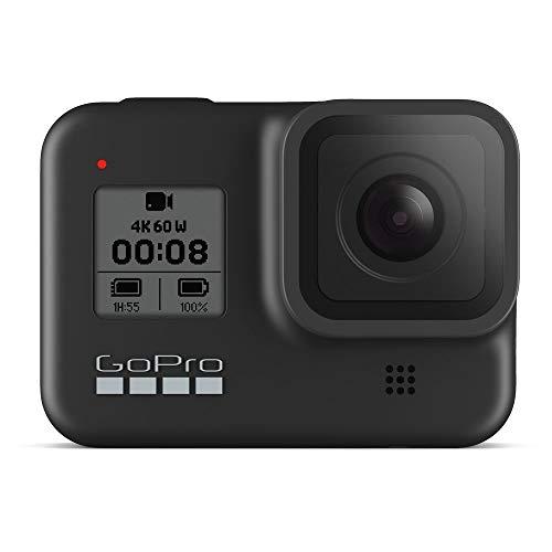 Câmera GoPro HERO8 Black à Prova D'água 12MP 4K Wi-Fi - Preto