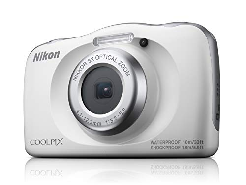 Câmera Nikon Coolpix W150 - Branco