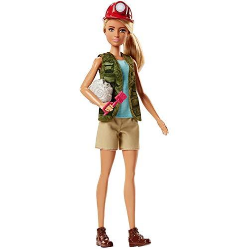 Barbie® Paleontologa - Profissões - MATTEL - FJB12 - Barbie® Paleontologist Doll
