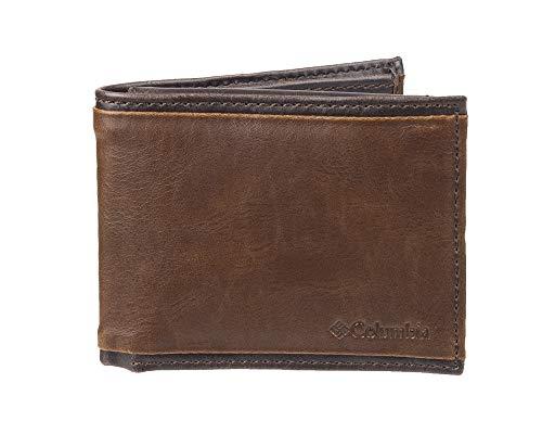 Columbia Carteira masculina com passaporte RFID, Deschutes Marrons, tamanho nico