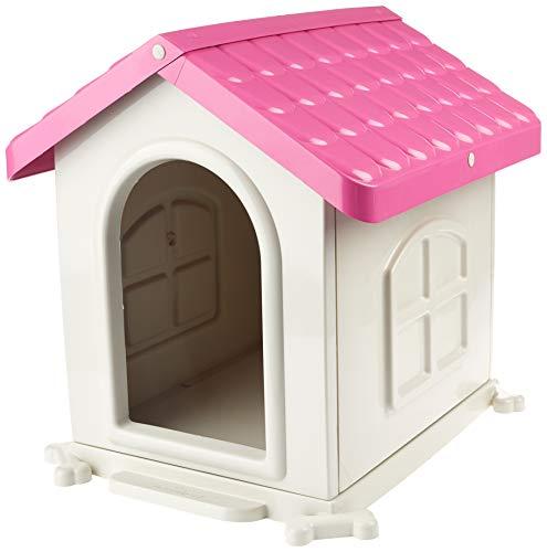 Casinha Desmontável N.2-Rosa Pet Injet para Cães