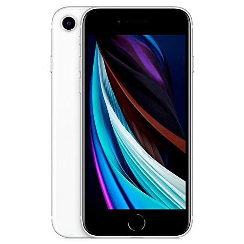 iPhone SE Branco. com Tela de 4.7. 4G. 64 GB e Câmera de 12 MP - MHGQ3BR/A