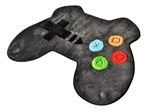Tapete Gamer Formato Controle De Video Game Grafite Promoção
