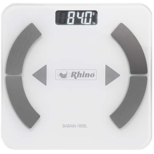 Balança Profissional de Bioimpedância digital Rhino BABAIN-180 BL SMART com bluetooth