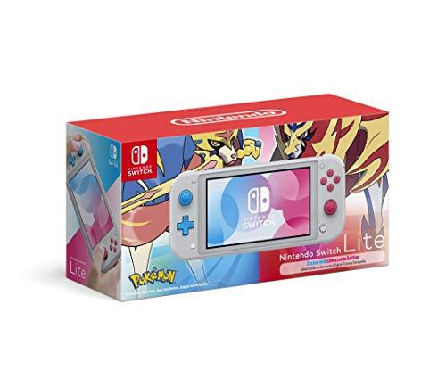 Nintendo Switch Lite Zacian and Zamazenta Pokemon Edition
